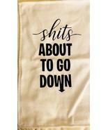 Graphic Bathroom Towel - $5.69
