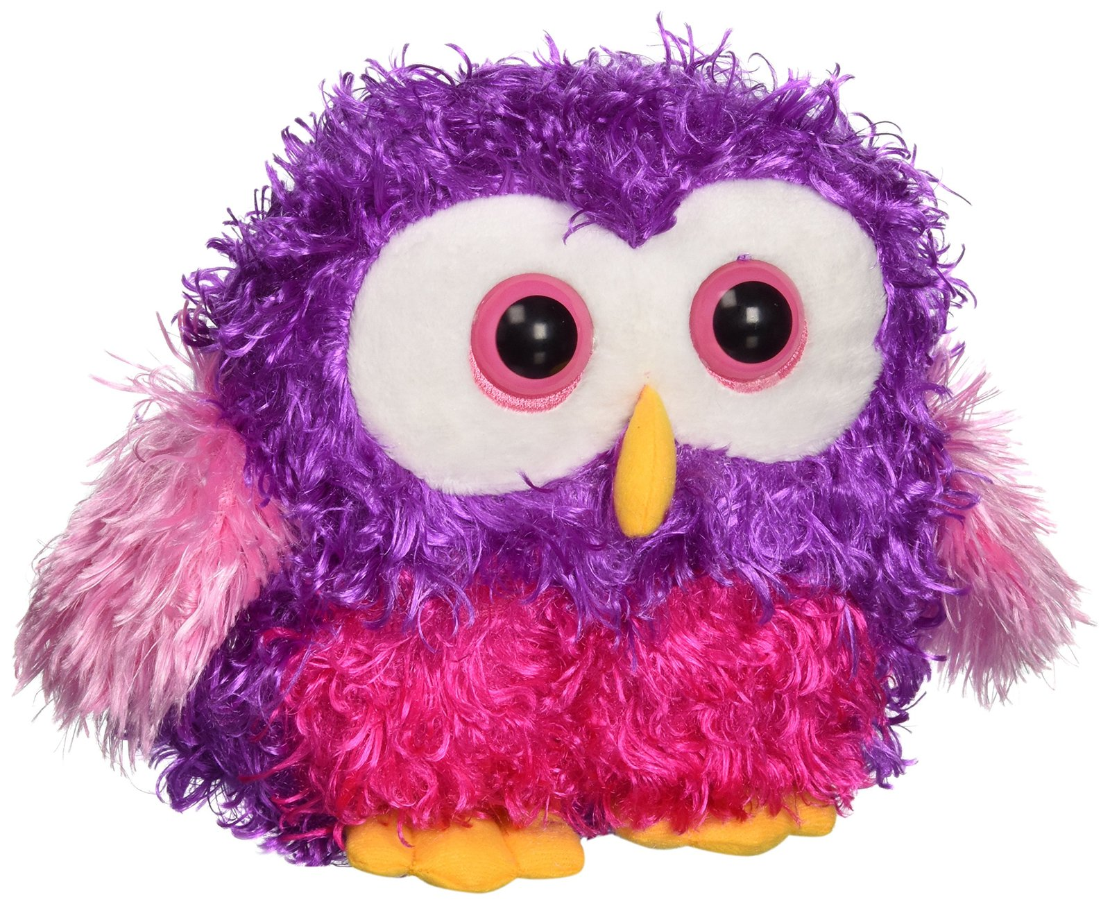 "Ganz 7"" Whoorah Hoots Plush Toy, Purple"