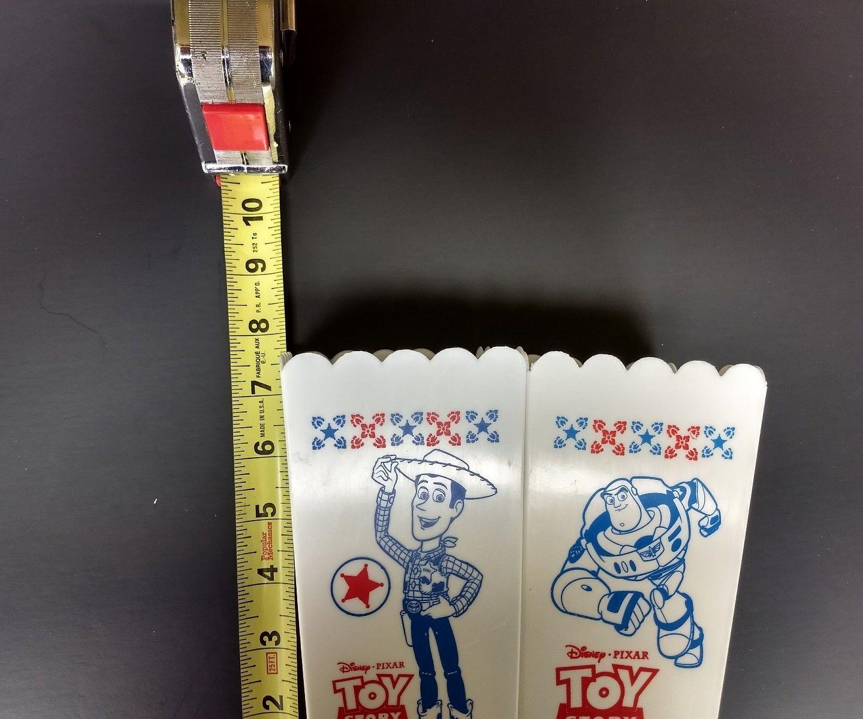 Walt Disney Pixar Toy Story movie plastic popcorn containers Woody Jessie Buzz image 4