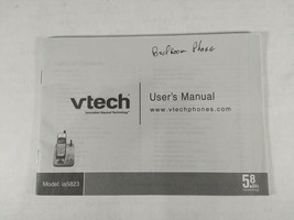 VTECH Model IA5823 Cordless Phone Booklet User's Guide Book Instruction ... - $5.99