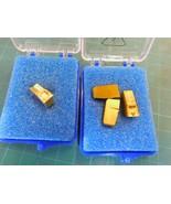 4 New Assorted Sandvik N151.2 Carbide Parting Inserts  - $28.50
