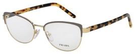 Prada Eyeglasses PR63XV-06B1O1-53 Size 53mm/17mm/140mm Brand New W Case - $134.32