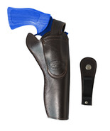 "New Barsony Brown Leather 360Carry 8 Option OWB Cross Draw Holster 6"" Re... - $66.99"