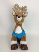 "Build A Bear Christmas Sparkle Deer Reindeer w Outfit 17"" Plush Stuffed ... - $26.68"