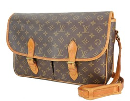 Authentic LOUIS VUITTON Sac Gibeciere GM Monogram Shoulder Messenger Bag... - $439.00