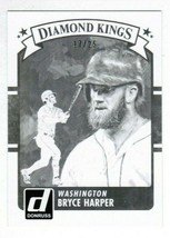 BRYCE HARPER 2016 Panini Donruss Diamond Kings Black Test Proof 17/25 #3... - $32.00