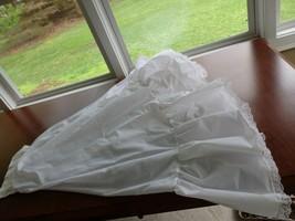 """Full Length White Crinoline - Half Slip Wedding Prom Dress Slip  W 24 - 26"""" - $14.95"""