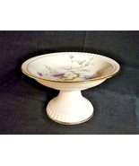 Pedestal Dish Bareuther Waldsassen Bavaria Germany - $74.95
