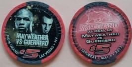 $5 Mgm Grand Las Vegas Mayweather Vs Guerrero May 4 2013 Boxing Chip - $14.95