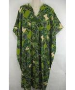Caftan Kaftan African Dress One Size Green Purple Blue - $15.83