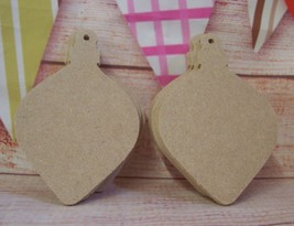 5x MDF Christmas bauble tree decoration  craft Blank Varied sizes  - $2.63+