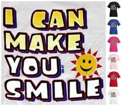I can make you smile sun  T-shirt Kid's Children Unisex Girl Boy Funny K... - $12.99