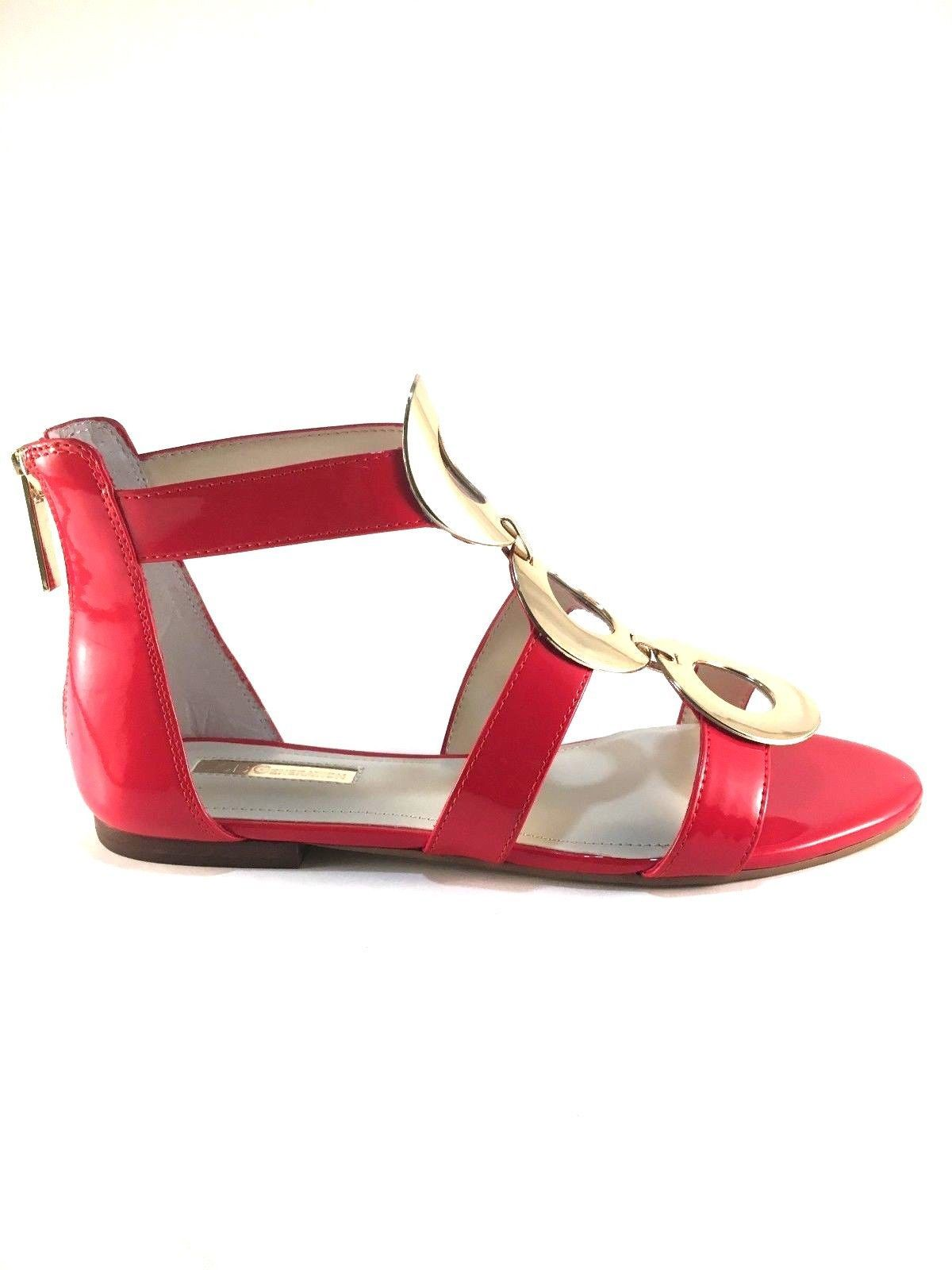 6b228d1f768 BCBGeneration Faroh Candy Red Flat Gladiator and 14 similar items