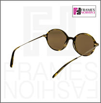 OLIVER PEOPLES CORBY OV5347SU Cocobolo Brown Gold Round Sunglasses 5347 Unisex image 4