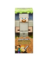 "NEW SEALED 2019 Minecraft Steve in Iron Armor 8.5"" Action Figure - $23.08"