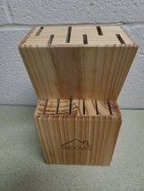 Alcove 12 Slot Hard Wood  Knife Storage Block - $8.80