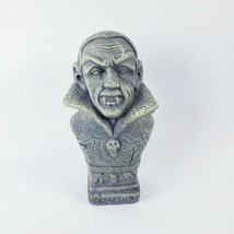 "6"" Dracula Statue Bust Halloween Decor  - $10.89"