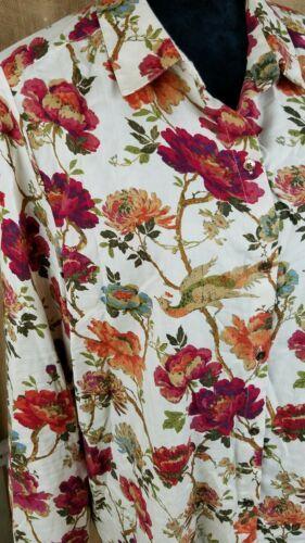 J. Jill Donna L Button Down Camicia Manica Lunga Stampa Floreale image 2