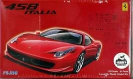 *Fujimi model Ferrari 458 1/24 Ferrari No.81 - $64.13