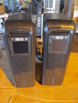 lot of 2 OEM tripp-lite omni900 LCD smart UPS series-OMNI900LCD (No battery) - $166.30