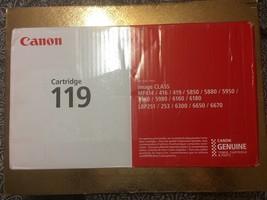 Canon 119 Black Toner Cartridge (3479B001) - $70.08