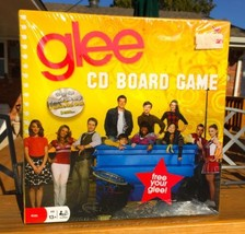 NEW 2010 GLEE TV Show CD Board Game In Factory Shrink-wrap ~ Sealed - $6.91