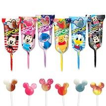 Glico, Popcan cute Shaped Lollipop 6  random flavors set Japan Candy - $6.60
