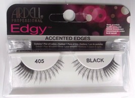 Ardell Strip Lashes Edgy 405 Black Accented Edges Eyelashes - $6.98