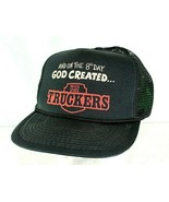 And In The 8th Day God Created Interstate Truckers Black Baseball Cap Sn... - £17.00 GBP