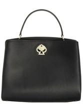 kate spade new york Romy Medium Leather Satchel - Black - $278.00