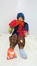 Colourful clown Shelf-Sitter - $35.00
