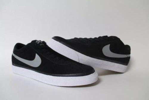 NUOVO Nike SB BRUIN NERO GRIGIO BIANCO Premium taglie 11 631041001 Uomo