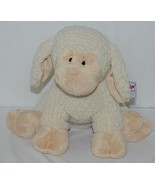 GANZ Brand HE9916 Tan and White Fleece Plush Snuggle Lamb - $49.99