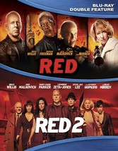 Red (Special Edition)/Red 2 (Blu Ray/Double Feature) (2Discs/Ws/Eng/Eng Sub