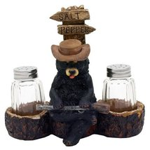 Bear Kitchen Salt & Pepper Shakers Cabin Lodge by A.S.A.R. - $19.99