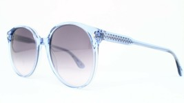 New Bottega Veneta Bv 277S Tsk Bd Clear Blue Authentic Sunglasses 56-19-140 - $94.80