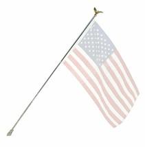 6' Ft Residential Flag Pole Kit Tangle Free No Furl Rings (NO FLAG) - $15.76