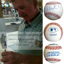 Alan Thicke Growing Pains Autographed Signed Baseball Proof COA Unusuall... - $67.88