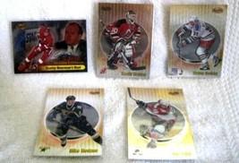 Wayne Gretzky,Brodeur,Modeno,Sakic,Thorton,Lidstrom 1998-99 Bowman Best 6 Cards - $12.86