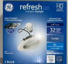 "1 - GE Refresh Lighting 4"" LED  HD 700-Lumen RS4 Recessed Downlight Kit - $13.17"