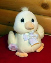 "Precious Moments Plush 12"" Chirping Yellow Plump SpringTime Perfect Chick Duck  image 1"