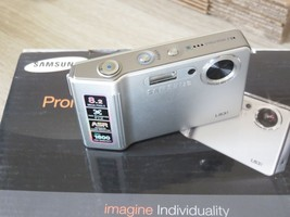 Samsung L Series L83T 8.2MP Digital Camera - Silver - Unboxed - $61.58