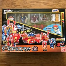 Bandai Machine Robo Mugenbine Mugen engine combination series Saga Falcon Set - $129.99