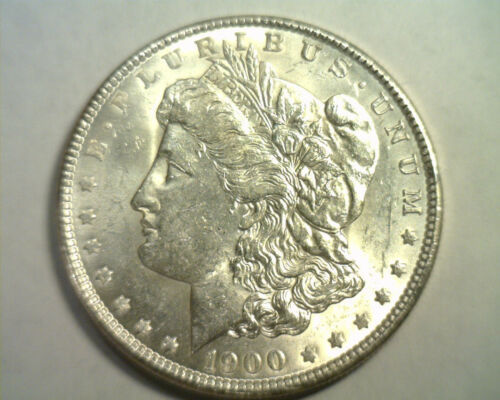 1900 MORGAN SILVER DOLLAR CHOICE UNCIRCULATED CH. UNC. NICE ORIGINAL COIN
