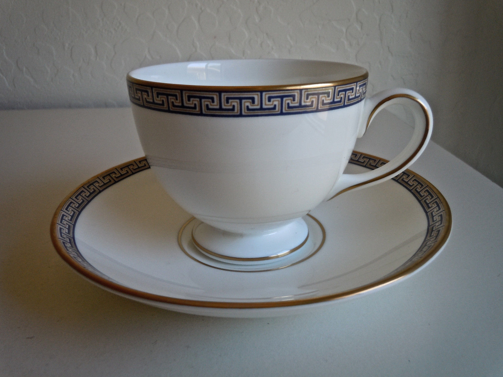 Wedgwood Palatia Footed Cup and Saucer