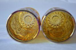 2 L E Smith Carnival Glass Valtec Tumblers image 5