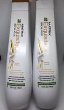 MATRIX BIOLAGE Exquisite Oil Shampoo 2 New Bottles - $12.87