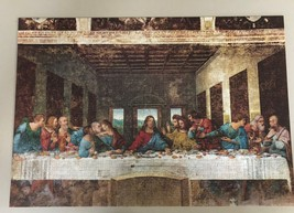 Chamber Art Jigsaw Puzzle The Last Supper 1000 Pieces 28.9 x 20 in. with Poster image 4