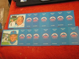 MLB 1969 New York Mets @ Shea World Champion Post Cards By S. Rini $ 2.99 Each! - $2.96