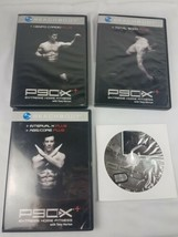 4 DVDs Beachbody P90X Extreme Home Fitness Total Body Kenpo Interval X O... - $14.80